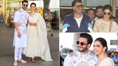 Ranveer Singh and Deepika Padukone Take 'Sharing Is Caring' Love Goals To Another Level; Newlyweds Wear The Same Clothes? View Pics!